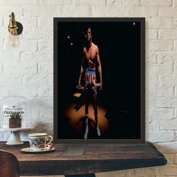 Rocky Balboa Vintage Movie Wall Art Wall Decor Silk Prints Art Poster Paintings For Living Room No Frame