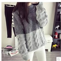 Womens Pretty Basic Stylish Knit Sweater