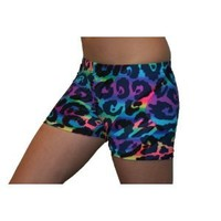 Feisty Cat Spandex Compression Shorts in 3 Lengths