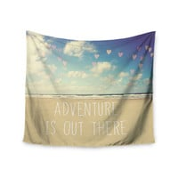 "Sylvia Cook ""Adventure is Out There"" Wall Tapestry"