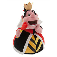 "disney store alice in wonderland queen of hearts 14"" plush new with tags"