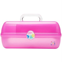 Hot Pink Sparkle Jelly Retro On-The-Go Girl™ Caboodle - OUT OF STOCK UNTIL 2019