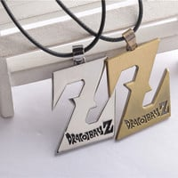 Hot New Fashion Birthday Gift Japanese Anime Dragon ball Z DBZ Alloy Pendant Cosplay Chain Necklaces Dragon ball Z necklace