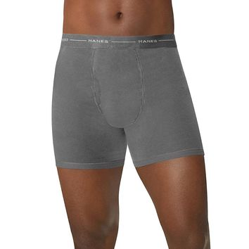 Hanes TAGLESS; Men's Boxer Briefs 4-Pack