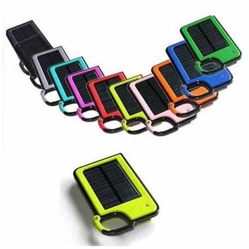 Clip-on Tag Along Solar Charger For Your Smartphone