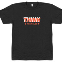 Think Testicles - T-shirt