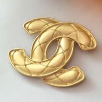 8DESS Chanel Women Plated Brooch Accessories