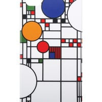 Frank Lloyd Wright Coonley Playhouse iPhone 5/5S Case