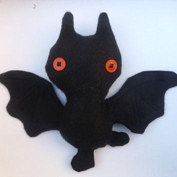 Halloween Decorations - Felt - Bat - Kawaii Bat - Room Decor - Teens gift