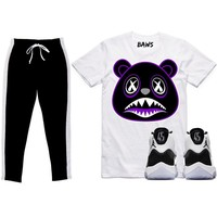 Jordan 11 Concord Sneaker Outfit - CONCORD BAWS - Track Pants + Shirt