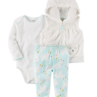 3-Piece Little Vest Set