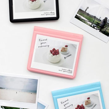 Colorful Instax wide slip in pocket photo album