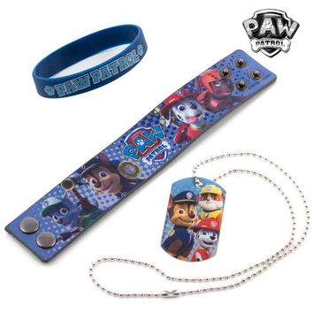 Paw Patrol Bracelets and Necklace