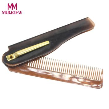 Pocket / Folding Comb For Men HAICAR 1PC Pretty Hairdressing Beauty Folding Beard And Hair Comb Beauty Tools Hair Combs Hot New