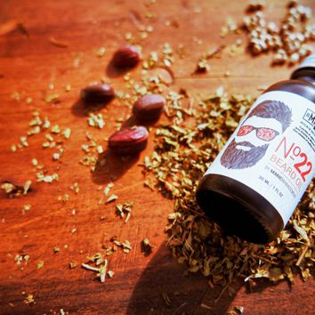 Mane Management No.22 Creamy Nutmeg & Leather Beard Oil