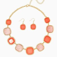 Druzy Hues Necklace Set | Fashion Jewelry | charming charlie