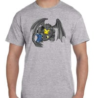 Toothless Pikachu And Stitch T Shirt