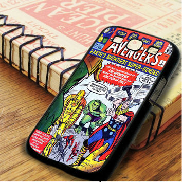 The Avengers Comic Samsung Galaxy S3 Case