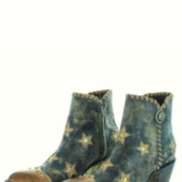 Yippee Ki Yay Glamis Short Boot~ Rustic Beige