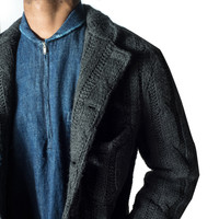 ENGINEERED GARMENTS KNIT LEISURE JACKET - NEW ARRIVALS