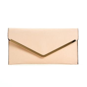 Ivory On The Town Clutch