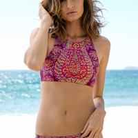 Billabong - Gypsy Dreamin Reversible Top | Black Cherry