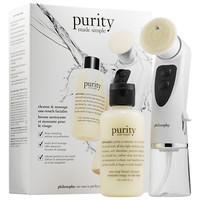 philosophy Purity Made Simple Cleanse & Massage One-Touch Facialist Kit