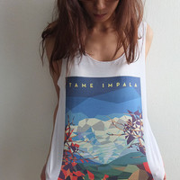 Tame Impala,  indie rock pop alternative fashion Tank Top