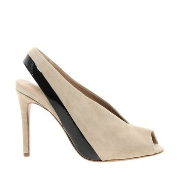 See By Chloe Sling Back Heeled Shoe