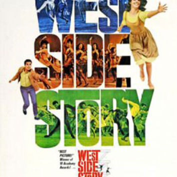 West Side Story Vintage Movie Poster