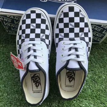 VANS Checkerboard Old Skool Flats Shoes Sneakers Sport Shoes G-A36H-MY