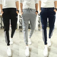 Pants Casual Stripes Slim Sportswear [6544568515]