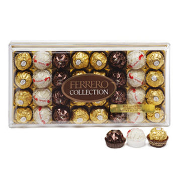 Ferrero Rocher Fine Chocolates Collection: 32-Piece Box
