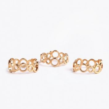Circle Band Ring Sets
