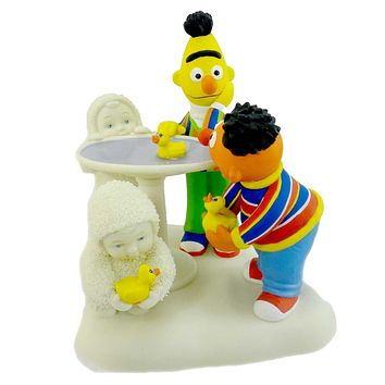 Dept 56 Snowbabies Rubber Duckie Have Some Fun Figurine