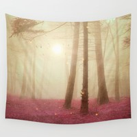 A new beginning VII Wall Tapestry by Viviana Gonzalez