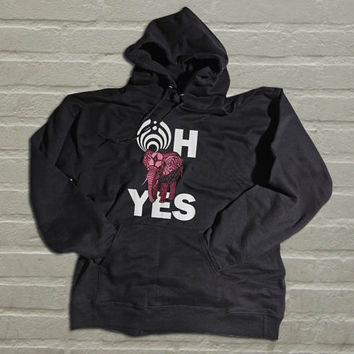 Bassnectar  Oh Yes! Pink Elephant valentine hoodie for men and women