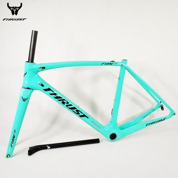 Thrust Carbon Road Frame 2018 T1000 Racing Bike Carbon Frame Road with Fork Headset and Seat Post