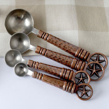 Bronze Star Measuring Spoons - Accessories - Kitchen - Home