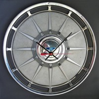 1961 Chevy Corvair Hubcap Clock - Chevrolet - Classic Car Clock