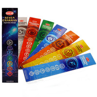 Seven Chakras Incense Sticks on Sale for $3.95 at HippieShop.com