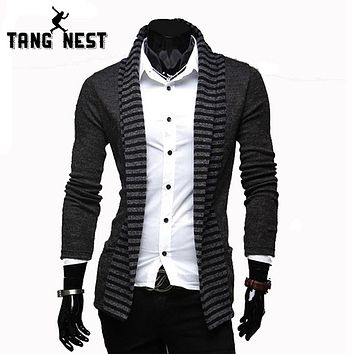 Men Casual Sweater Personality Leisure Cardigans