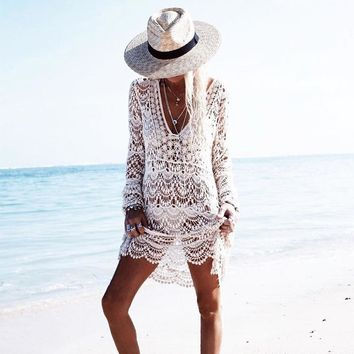 Beauty On the Beach Crochet Cover Up