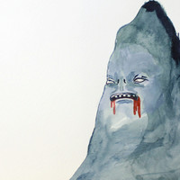 Blind Mountain, Painting