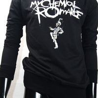 My Chemical Romance Gerard Way The Black Parade Jumper Sweater Men Woman S,M,L