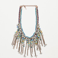 Stones and pearls necklace