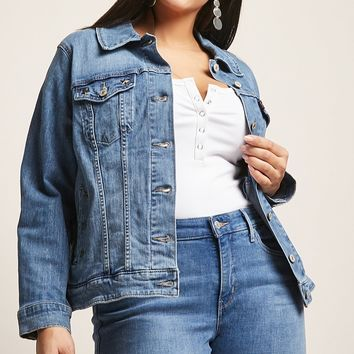 Plus Size Levis Denim Jacket