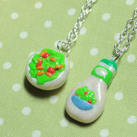 Kawaii Best Friend Salad and Salad Dressing by PumpkinPyeBoutique