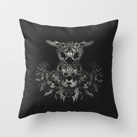 Creatures Throw Pillow by Iveta S.