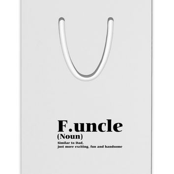 Funcle - Fun Uncle Aluminum Paper Clip Bookmark by TooLoud